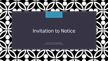 Apostrophes - Invitation to Notice