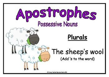 Apostrophes Poster Pack
