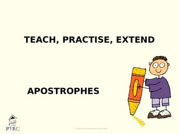 Apostrophes Teaching PowerPoint