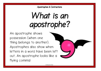 Apostrophes and Contractions