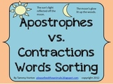 Apostrophes vs. Contractions Sentence Sorting