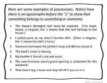 Apostrophes vs. Plurals