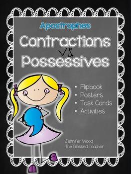 Apostrophes...Contractions vs. Possessives