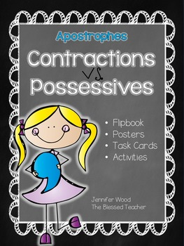 Apostrophes...Contractions vs. Possessives
