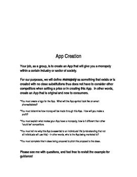 App Creation Mini Project - Understanding Monopolies (Application)