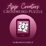 PLTW App Creators Crossword Puzzle