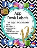 App Desk Labels