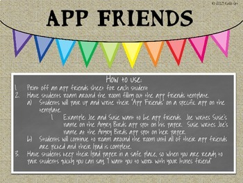 App Friends (Collaborative Group Strategy)