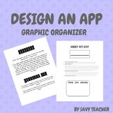 Design an App Graphic Organizer - Non fiction Supplement
