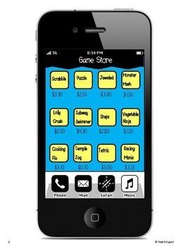 App Store Maths Activity! - NO PREP & SUPER ENGAGING