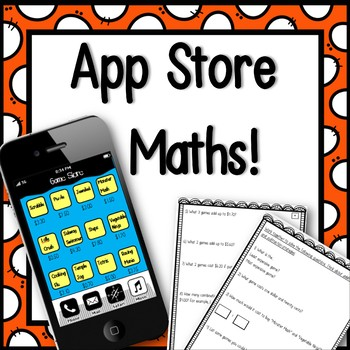 App Store Maths Activity! - NO PREP & SUPER ENGAGING LESSON
