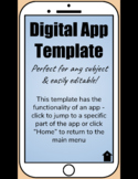 App Template - Editable Google Slide