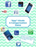 """App""-Titude: Categorization Activity with iPhone App"