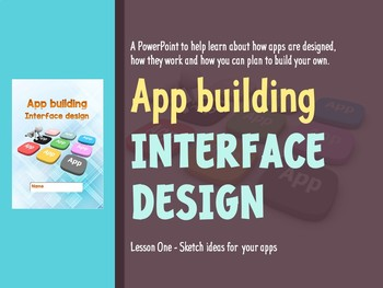 App building: Interface design (PowerPoint)