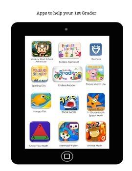 App list for 1st graders