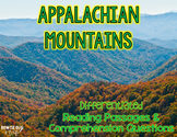 Appalachian Mountains Differentiated Nonfiction Reading Passages