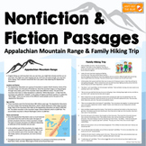 Fiction and Nonfiction Passages with Activities, Comprehen