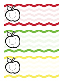 Appe Themed Name Tags Full Product