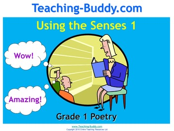 Appealing to the Senses – Grade 1 Reading and Writing