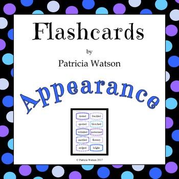 Appearance Flashcards