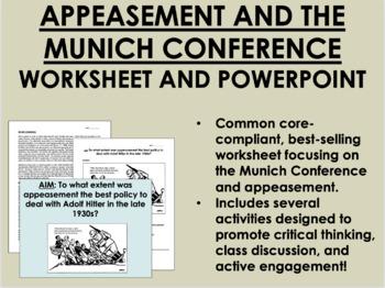Appeasement Bundle - World War II - Global/World History Common Core