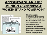 Appeasement Bundle - World War II - Global/World History Common Core