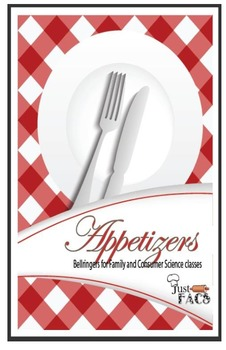 Appetizers:  Bellringers for Family and Consumer Sciences