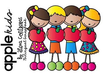 Apple Kids Clip Art FREEBIE
