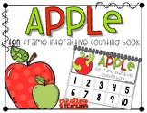 Apple 10 Frame Counting Interactive Book