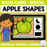 Apple 2D Shapes - Boom Cards - Distance Learning
