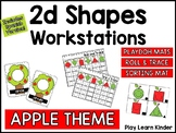 2d Shapes: Apple Workstations (English and Spanish)