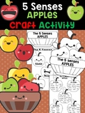 Apple 5 Senses : Fall and Autumn Activities Editable