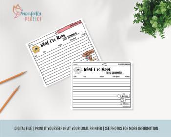 Apple A Day Kids Summer Reading Log