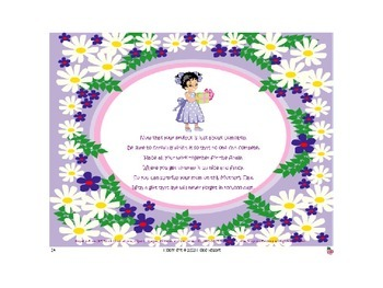 Adorable Adjectives: My Marvelous Mom Helps Me Bloom! PowerPoint Book Packet