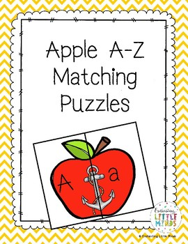 Apple A-Z Mathing Puzzles
