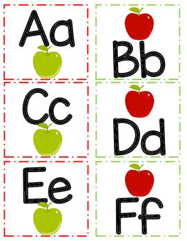 Apple ABC Cards!