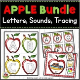 Apple ABC Flashcards and Beginning Sounds Mini-Bundle