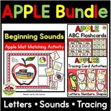 Apple Activities Bundle: Letters, Sounds, Tracing