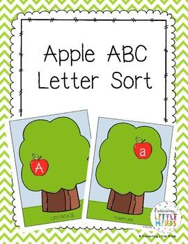 Apple ABC Letter Sort