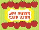Apple ABC Sound Sorting