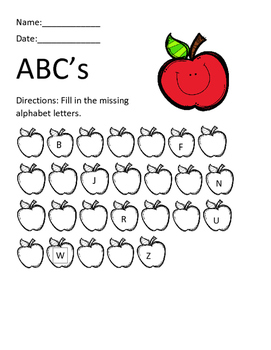 Apple ABC's
