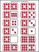 Apple Activities: Apple Dominoes Fall Math Activity Packet Bundle