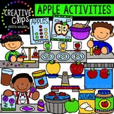 Apple Activities Clipart {Creative Clips Clipart}