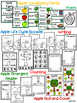 Apple Activities {Emergent Reader, Life Cycle, Number Order, Roll and Cover}