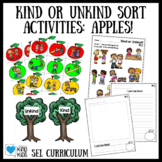 Apple Activities: Kind or Unkind Sort and Kindness Activities