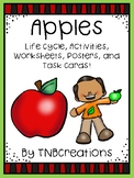Apples Life Cycle Worksheets and Task Cards