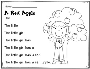 Apple Activities: Literacy & Math