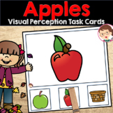 Apple Activities - Matching Pictures Tasks for Pre-K (PreK) and Literacy Centers