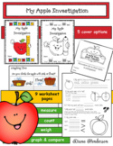Apple Activities My Apple Investigation Booklet