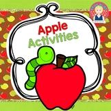 Apple Activities for K-1